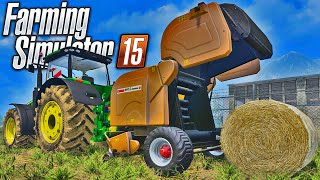 getlinkyoutube.com-Farming Simulator 2015 - Enfardadeira Roubada