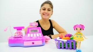 getlinkyoutube.com-Ayşe'yle alışveriş oyunu. Mağaza oyunu oynayalım. Eğitici video çocuklar için