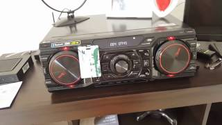 Mini System LG CM 8360 (1800W RMS)