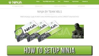 getlinkyoutube.com-How To Setup NiNJA   XBLS/Xbox Live Stealth [JTAG/RGH]