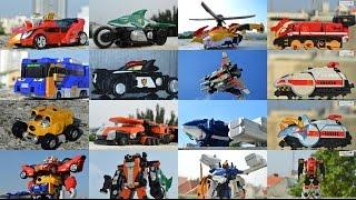 getlinkyoutube.com-All DX Gattai Engine Sentai Go-Onger 2008! DX 炎神戦隊ゴーオンジャー! Power Rangers RPM Megazord!