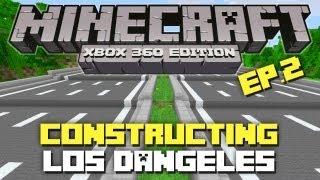 getlinkyoutube.com-Minecraft Xbox 360: Constructing  Los Dangeles! Episode 2! (TNT!)
