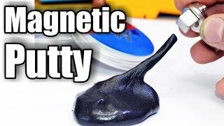 getlinkyoutube.com-Magnetic Putty eats Magnets!