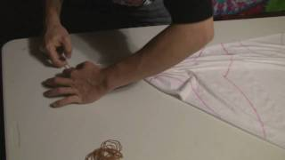 getlinkyoutube.com-How to Tie dye a tapestry tutorial advanced techniques. Part 1.
