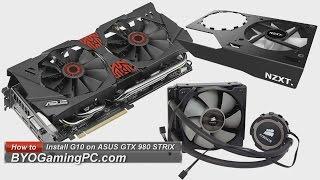 getlinkyoutube.com-ASUS GTX 980 STRIX & NZXT Kraken G10 Installation How to