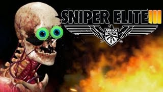 getlinkyoutube.com-Sniper Elite III   BONE SHATTERING GOODNESS