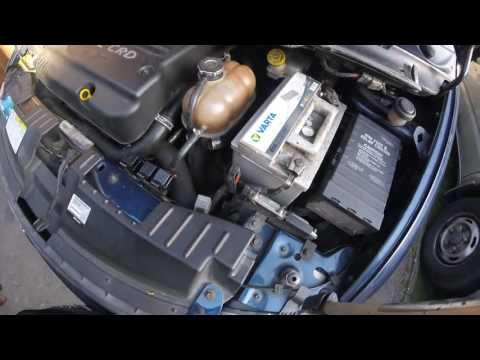 Расположение предохранителя мотора печки в Крайслер Крайслер
