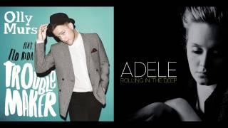getlinkyoutube.com-Olly Murs vs. Adele  - Troublemaker In The Deep