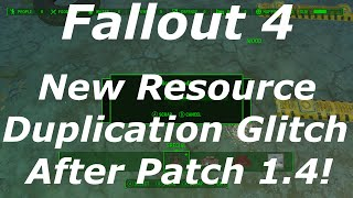 getlinkyoutube.com-Fallout 4 New Resource Duplication Glitch After Patch 1.4! (Fallout 4 Glitches After Patch 1.4)
