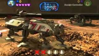 getlinkyoutube.com-Lego Star Wars 3 Walkthrough - Part 08 - Battle of Geonosis (Story Mode)