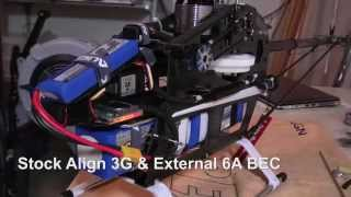 getlinkyoutube.com-Align T-Rex 700E 3G Super Combo Equipment Installation & Wiring