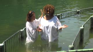 GloZell Get's Baptized in the Jordan River - GloZell