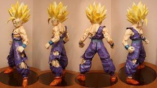 getlinkyoutube.com-GOHAN Papercraf Dragon Ball