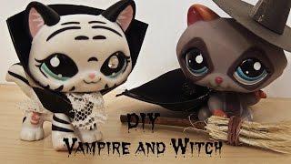 getlinkyoutube.com-DIY Vampire & Witch costume - Halloween Special