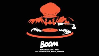 Major Lazer & MOTi - Boom (ft. Ty Dolla $ign, Wizkid, & Kranium)