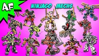 getlinkyoutube.com-Every Lego Ninjago Mech - Complete Collection!