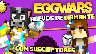 getlinkyoutube.com-EGGWARS MINECRAFT #4 | HUEVO DE DIAMANTE CON CHICA GAMER