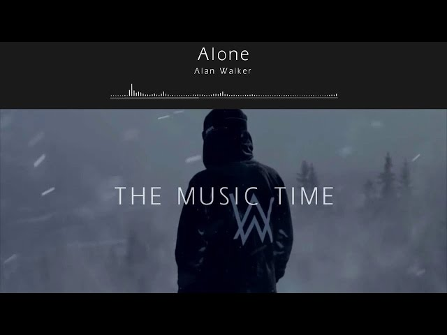 ALONE - ALAN WALKER karaoke version ( no vocal )  instrumental