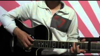 getlinkyoutube.com-Tutorial: Himawari No Yakusoku Easy Fingerstyle Guitar + TABS