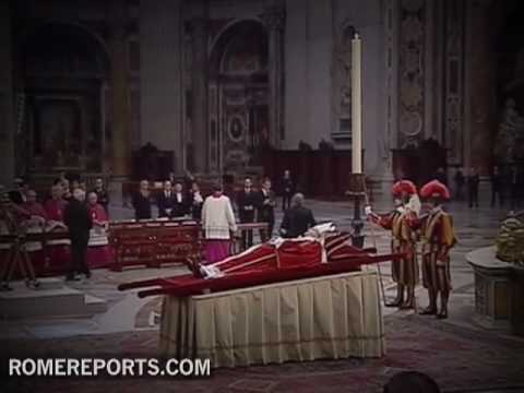 5 years after the death of John Paul II