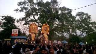 getlinkyoutube.com-Parthan and Thechi at Ethanoor Kummatty March 26th 2015