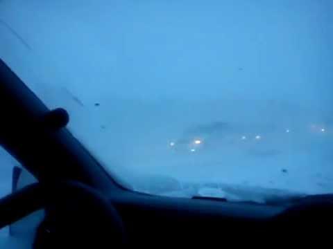 Трасса Уфа-Стерлитамак 07.03.13