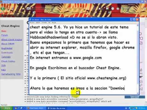 descargar cheat engine 6.2 gratis espanol sin virus