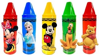 getlinkyoutube.com-Best Learning Colors Video for Children - Disney Mickey Mouse Clubhouse Crayons