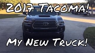 getlinkyoutube.com-2017 Tacoma TRD Sport 4x4 (My New Truck!)