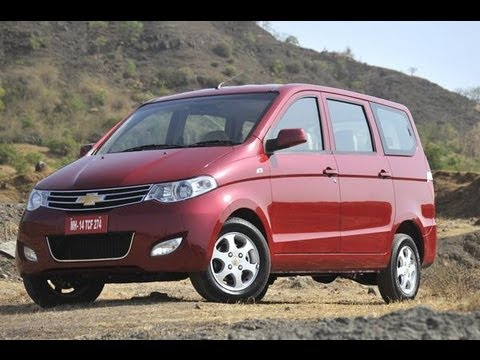 Chevrolet Enjoy MPV video review by Autocar India