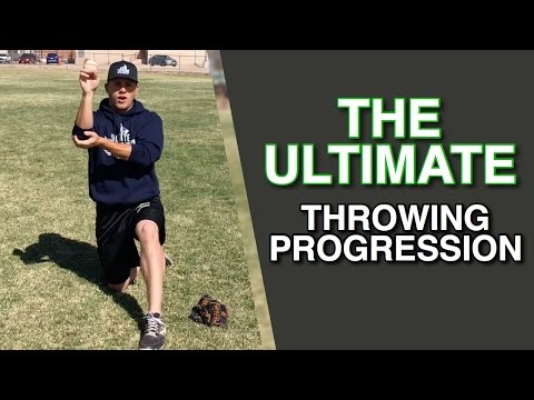 Baseball Throwing Progression Drills You MUST Be Doing!