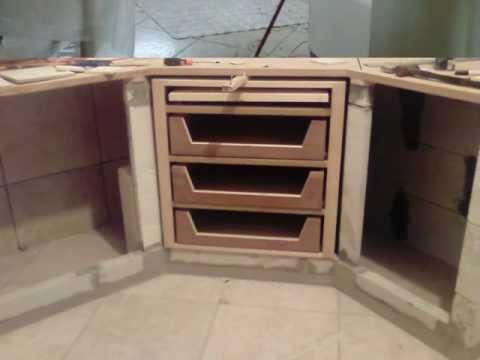 cucina in muratura di luca
