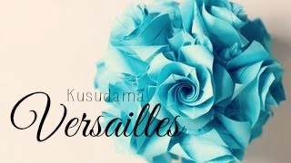 getlinkyoutube.com-(HD) Origami Ball/ Kusudama Versailles (Krystyna Burczyk)