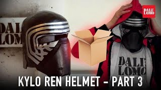 getlinkyoutube.com-#111: Kylo Ren Helmet Part 3 - Details & Paint | Star Wars 7 | Costume | How To | Dali DIY