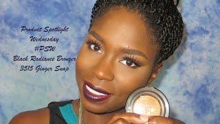 getlinkyoutube.com-Product Spotlight Wednesday  #PSW   Black Radiance Bronzer