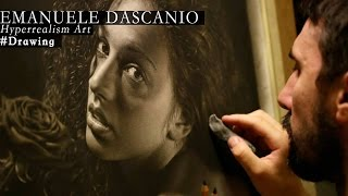 getlinkyoutube.com-Hyperrealism - Drawing made by Emanuele Dascanio - Rosa Rùtila - 250 hours