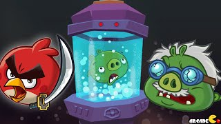 getlinkyoutube.com-Angry Birds Fight! RPG Puzzle - DR. PIG'S LAB Floors 7!