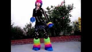getlinkyoutube.com-Glowstix Neon and blood Industrial Dance 8 by CyberTeddy:3