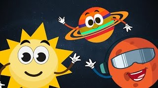 getlinkyoutube.com-The Planet Song ☀ ☽ 🌎 | The Solar System Song ☀ ☽ 🌎 | Planets Song for Children with Lyrics ☀ ☽ 🌎