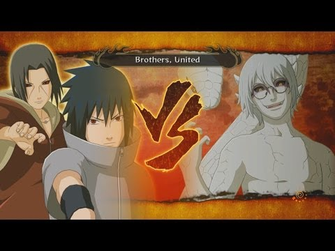 How To Unlock Itachi & Sasuke vs Kabuto Fight! - Naruto Shippuden Ultimate Ninja Storm Full Burst