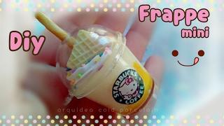 getlinkyoutube.com-Tutorial Frappé mini colgante #kawaii Porcelana Fria