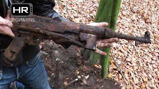 getlinkyoutube.com-Relic Hunting Eastern Front of WWII Episode 9 Раскопки Вторая Мировая Война Металлоискатель