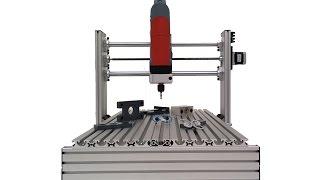 getlinkyoutube.com-Como construir tu fresadora CNC profesional de 3 ejes - Presentación