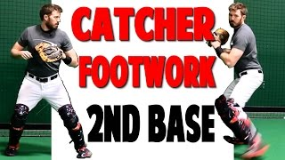 getlinkyoutube.com-Catcher Footwork | Throwing To Second (Pro Speed Baseball)