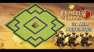 getlinkyoutube.com-CLASH OF CLANS- TH8 FARMING BASE BEST /TOWN HALL 8 DEFENSE /WITH 3x AIR DEFENSES