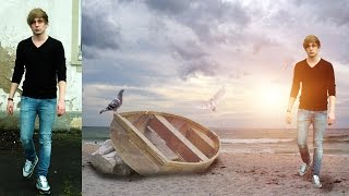 getlinkyoutube.com-PicsArt Editing Tutorial |  Alone Boy | Missing You | Photo Manipulation |  PicsArt Best Editing
