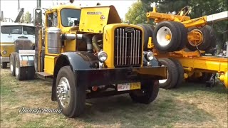 Old Autocar With a Purring Cummins @ Brooks Truck Show
