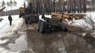 getlinkyoutube.com-Экстримальная работа водителей в лесу