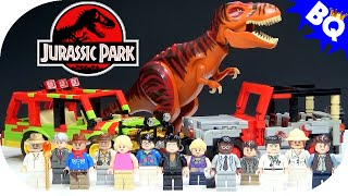 getlinkyoutube.com-LEGO Jurassic Park World Custom Minifigure Collection