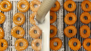 How Krispy Kreme Doughnuts Are Made width=